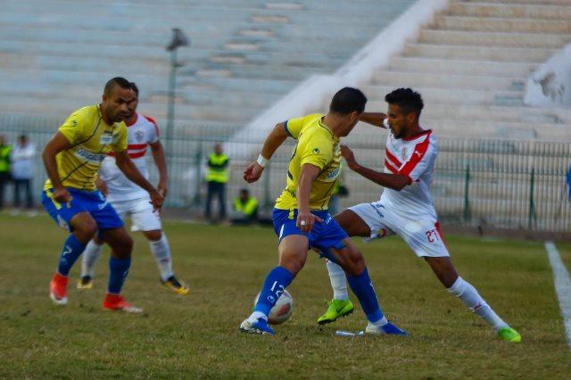 موعد مباراة الزمالك وطنطا في الدوري المصري