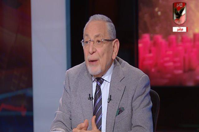 عدلى القيعي في برنامج ملك وكتابة على قناة الأهلي