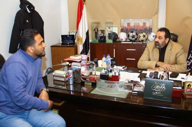 مجدي عبد الغني ومحمد عراقي