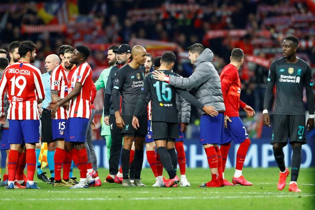 أتليتكو مدريد ضد ليفربول