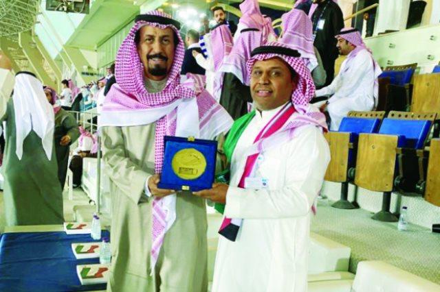 مشجع الهلال السعودي