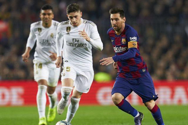 ميسي وريال مدريد