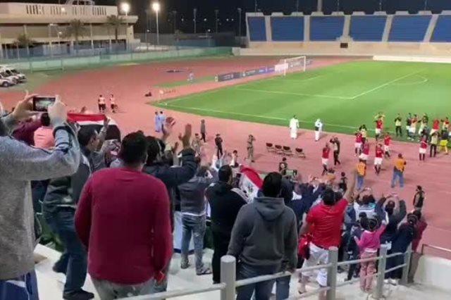 منتخب الشباب ضد العراق