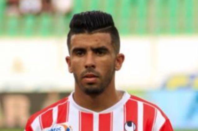 المغربي كريم البركاوي مهاجم فريق الرائد السعودي
