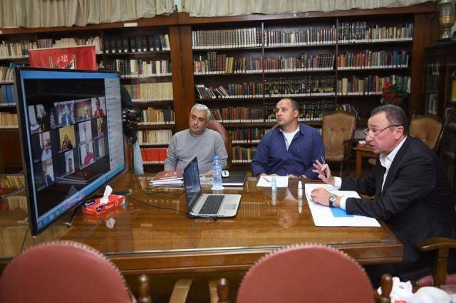 الأهلي يشكر محافظ القاهرة ويطلب مساندته لمواكبة الطفرة الإنشائية في البلاد