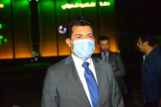 الدكتور أشرف صبحي , وزير الشباب والرياضة