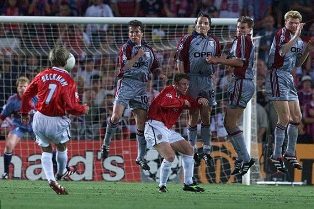 نهائي دوري أبطال أوروبا   بايرن ميونخ , مانشستر يونايتد 1999