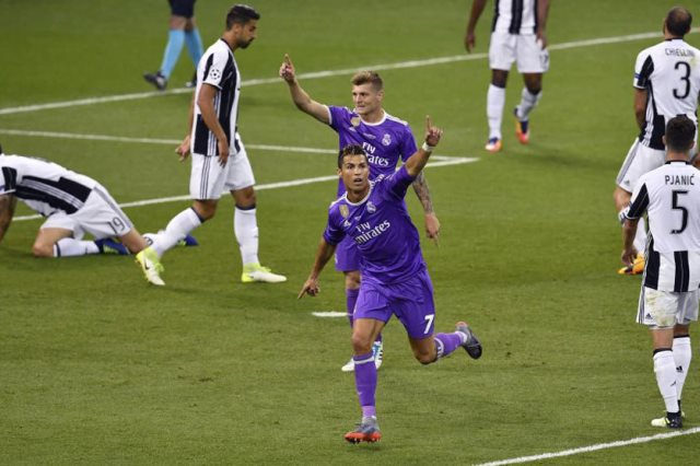 ريال مدريد ضد يوفنتوس
