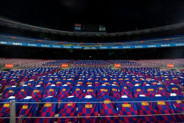 برشلونة ضد أتلتيكو مدريد