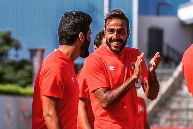 محمود كهربا: سعيد لتحقيق أول لقب دوري في حياتي مع الأهلي