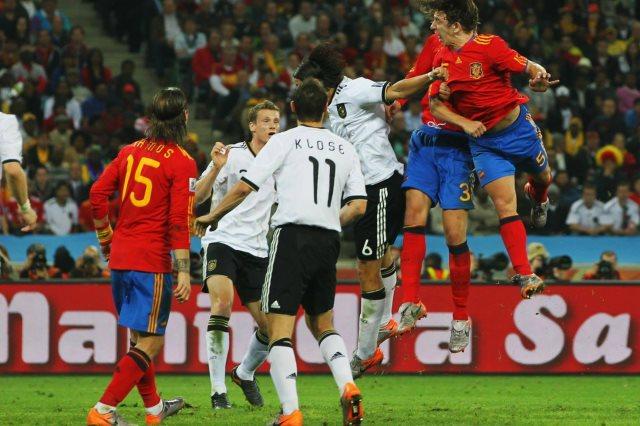 أسبانيا وألمانيا فى نصف نهائى مونديال 2010