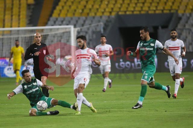 أهداف مباراة الزمالك ضد المصري