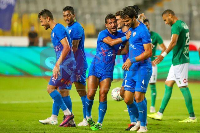 الزمالك يختتم تدريبات بفقرة إطالات بملعب عبد اللطيف أبو رجيلة