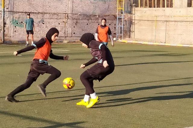 تدريبات الكرة النسائية