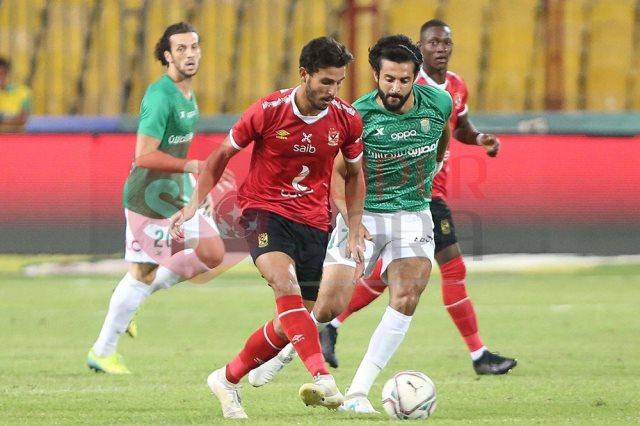 نتيجة مباراة الاتحاد السكندري ضد الأهلي في الدوري المصري