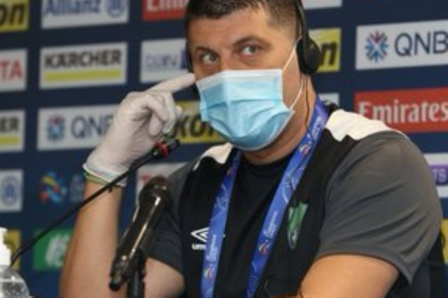 الصربي فلادان ميليوفيتش مدرب فريق الأهلي