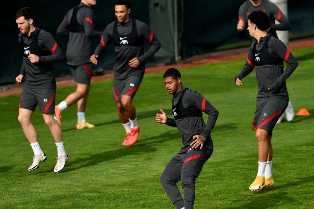 تدريبات فريق ليفربول