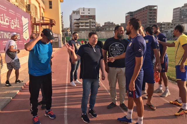 طنطا يستدرج نادي مصر في معركة القاع بالدوري المصري
