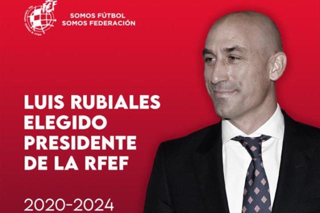 لويس روبياليس رئيس الإتحاد الإسباني