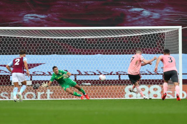 أستون فيلا  ضد شيفيلد يونايتد