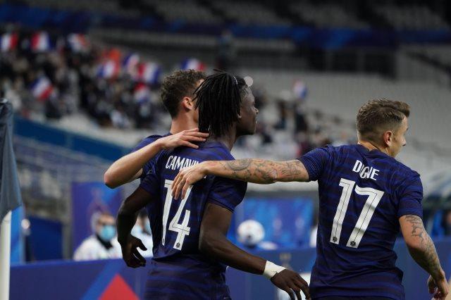 منتخب فرنسا وصيف العالم