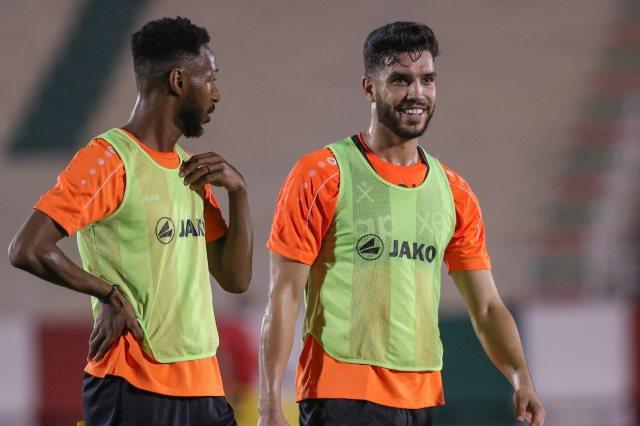 المغربي وليد أزارو مهاجم فريق الاتفاق