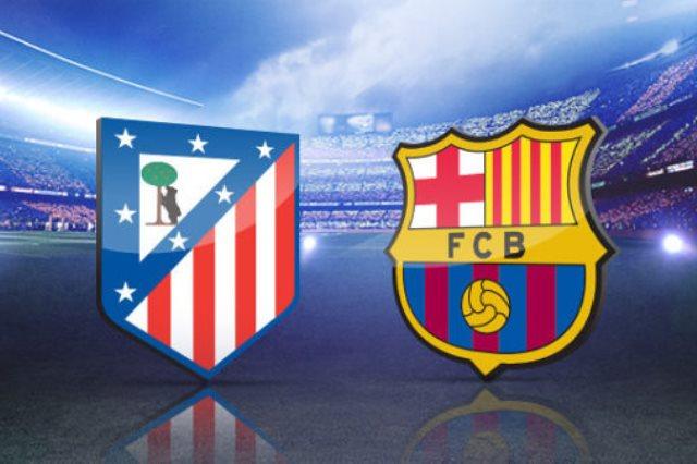 أتلتيكو مدريد ضد برشلونة