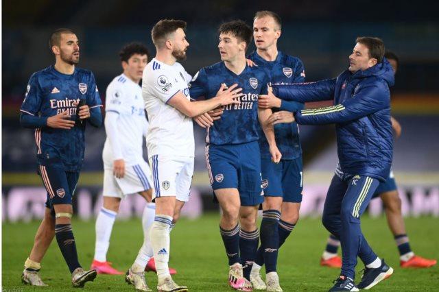 ليدز يونايتد ضد آرسنال