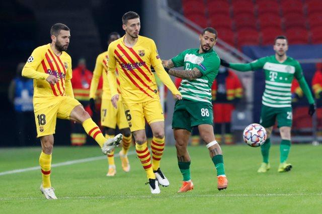 فرينكفاروزي ضد برشلونة