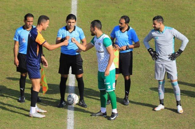 المصري يفوز على سبورتينج السكندري بثلاثة أهداف مقابل هدف