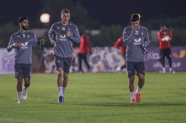 المغربي وليد أزارو، مهاجم الفريق الأول بالنادي الاتفاق السعودي