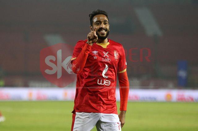 محمود عبد المنعم كهربا لاعب النادى الأهلى