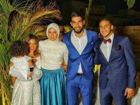 رمضان صبحى وزوجته حبيبة إكرامى وشقيقها شريف