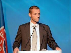 ألكسندر سيفيرين، رئيس الاتحاد الأوروبى لكرة القدم