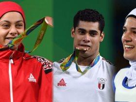 أبطال مصر في أولمبياد ريو دي جانيرو