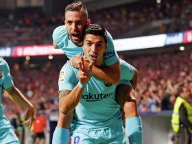 البا وسواريز بعد هدف برشلونة
