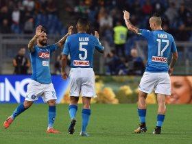 نابولى تغلب على روما 1-0