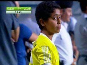 طفل الجونة في مباراة 13 - 0 الشهيرة