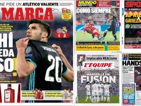http://www.superkora.football/News/10/86068/انتصار-الريال-على-بايرن-ميونخ-يتصدر-عناوين-الصحف-العالمية