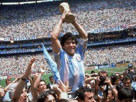 الأسطورة الأرجنتينى دييجو أرماندو مارادونا