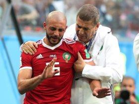 نور الدين أمرابط لاعب المنتخب المغربي وفريق النصر السعودي