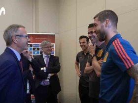 وزير الرياضة الإسبانى