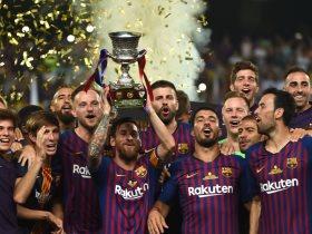 تتويج برشلونة