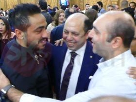 كهربا فى زفاف نجلة احمدسليمان