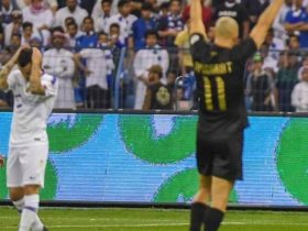 النصر والهلال فى ديربى الرياض