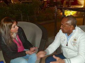 محررة سوبر كورة تحاور أحمد أحمد رئيس الاتحاد الافريقى لكرة القدم