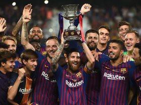برشلونة بطل النسخة الأخيرة