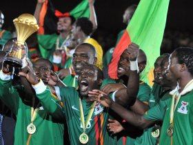 منتخب زامبيا بطل افريقيا 2012