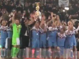 لاتسيو يحمل كأس إيطاليا