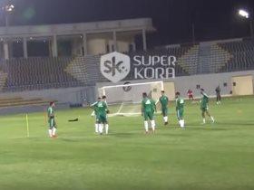 تدريبات منتخب الجزائر